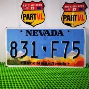 Американские автомобильные номера штат Nevada