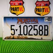 Американские автомобильные номера штат Montana
