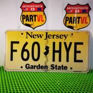 Американские автомобильные номера штат New Jersey