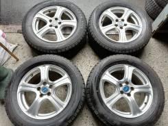 Отличная зима Bridgestone 215/60 R16 на литье 5/100