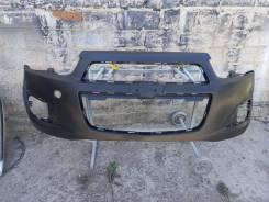 Бампер передний Chevrolet Aveo T300 2011-2015гг 2 поколение