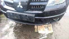 Бампер передний Outlander turbo омыватели фар