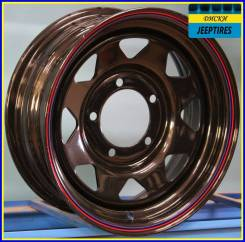 "R15 5x139,7 7,0J -5 110,1 Steel A15 Черный. 7.0x15"", 5x139.70, ET-5, ЦО 110,1мм."