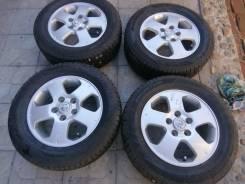 Колеса R15 5х114.3 195/65/15 Nissan из японии