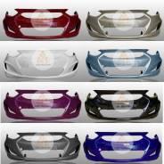 Бампер передний в цвет Хендай Солярис 2010-2014