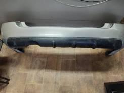 Бампер задний оригинал на Subaru Forester SG