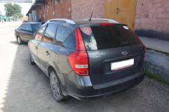 Задняя часть (четверть, крыло) Kia Ceed ED 2006-2012 Wagon