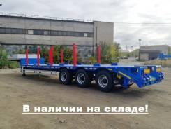 Чмзап 99064. Среднерамный полуприцеп-тяжеловоз -081-ККТГ (37,5 тонн), 37 500кг.