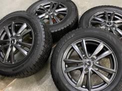 Weds NV R15 5*100 6j et43 + 195/65R15 Dunlop Winter Maxx WM01 Japan
