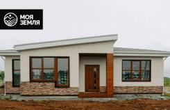 Новый одноэтажный дом 134 кв. м. на участке 7,5 соток. Улица СНТ «Дубрава» 62, р-н Угловое, площадь дома 134,0кв.м., площадь участка 750кв.м., скв...