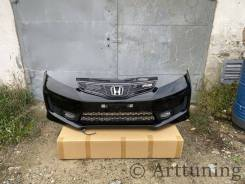 Передний RS Бампер в сборе Honda Fit ge6 ge7 ge8 ge9 gp1 gp4 рестайл