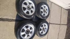 Комплект зимних колёс 195/65R15 на литых дисках