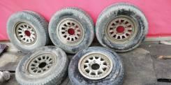 """Комплект колес на оригинальных дисках Suzuki Escudo. 6.0x15"""" 5x139.70 ET22 ЦО 107,0мм."""
