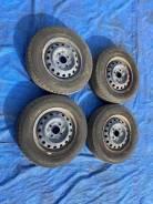 "Комплект летних колес на железных дисках 165 R14lt. M-20. 5.0x14"" 4x114.30 ЦО 65,0мм."