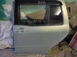 Дверь Toyota raum левая задняя ncz20 ncz25