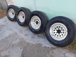 Продам колеса 265/70/16 Зима диски 6х139.7 вылет -7 шины Япония
