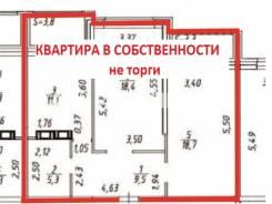 2-комнатная, улица Льва Толстого 25. Кировский, агентство, 63,0кв.м.
