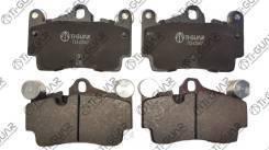 Тормозные колодки TG-3449/PN0457* Ti·GUAR Hyundai Starex, H1 08- Задние ДИСК. [TG3449] TG3449
