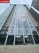 2-комнатная, улица Зеленый бульвар 25. 64, 71 микрорайоны, агентство, 60,4кв.м. Дом снаружи