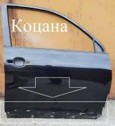 Дверь передняя правая, Toyota Highlander II 2007-2013 Color 202 чёрная