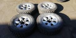 """Комплект колёс 245/70R16 в отличном состоянии на грязевой резине!. 7.0x16"""" 3x98.00, 6x139.70 ET25 ЦО 100,0мм."""