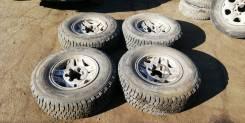 """Комплект колес 235/75R15 на родных литых дисках и летней резине. 7.0x15"""" 6x139.70 ET36 ЦО 102,0мм."""