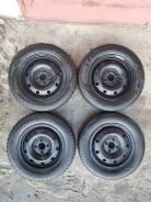 Продам комплект зимних шин на дисках 4х100