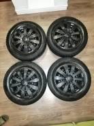 Продам комплект колес зимних r15 (штамповка + резина+ колпаки)