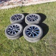 Литые диски с зимними шинами