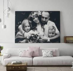 Фото на холсте на заказ, Картины, Портреты Арты