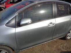 Дверь Toyota Vitz NCP91 1NZ-FE 2008 передняя левая серый 1f8