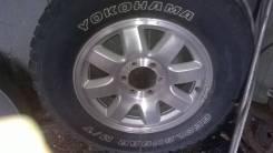 Грязевка Yokohama Geolander M/T 215/85R18 на литье П2 пляжник