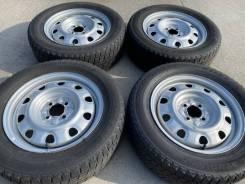 Бюджетные колёса на докатку! 195/65R15 зима Bridgestone + 4x100