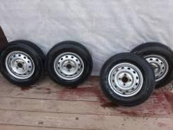 Продам колёса r12 145/80 зима подходят на Daihatsu Hijet
