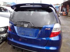 Дверь 5-я Honda Fit GE8 L15A 2008 синий, b548p