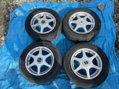 Комплект зимних колес 205/65R15 на литье Giraru на докатку