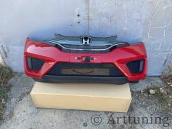 Передний бампер в сборе Honda Fit gk3 gk4 gk5 gk6 gp5 gp6