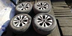 "Комплект колес 205/65 R15 на зимней резине. 6.5x15"" 5x114.30 ET38 ЦО 65,0мм."